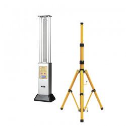 lampa UV-C Salus 36 pracuje na statywie lub bez